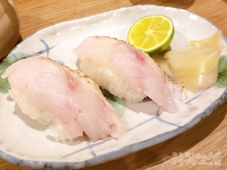目白 千の恵み ノドグロ寿司