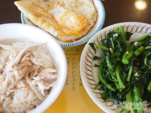 台北 圓山 丸林魯肉飯 鶏肉飯