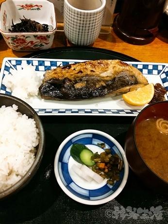 恵比寿 ランチ 行列 食彩かどた 焼き魚 メニュー さば