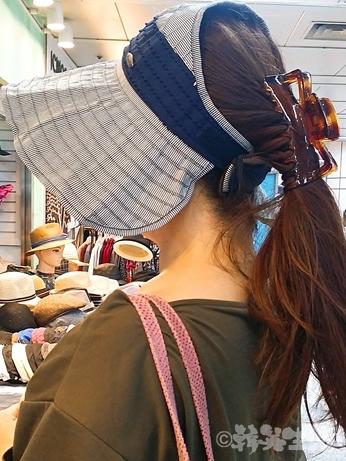 ソウル 東大門 買い物 サンバイザー
