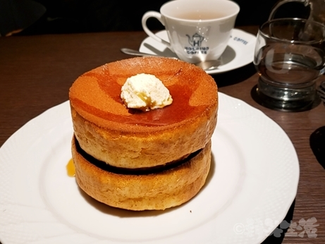 星乃珈琲店 パンケーキ スフレパンケーキ 新宿 カフェ