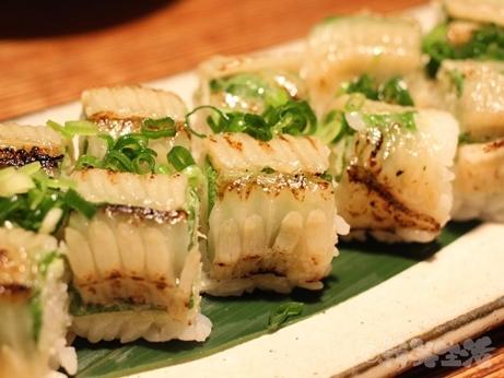 代々木上原 芸能人御用達 青 人気店 創作料理 エンガワ寿司 棒寿司