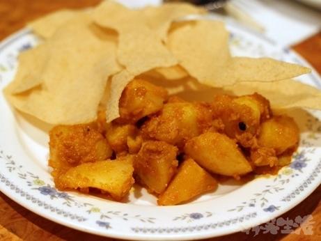 恵比寿 ネパール料理 クンビラ アンジャッシュ 渡部 マサラ炒め