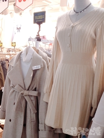 南 地下ショッピング街 洋服 韓国ファッション ワンピース