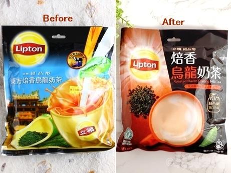 台湾土産 台湾スーパー Lipton リプトン 焙香烏龍奶茶 烏龍ミルクティー