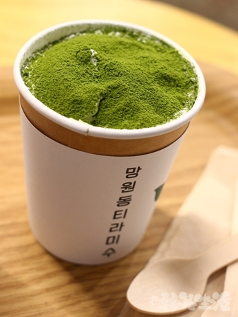望遠洞ティラミス 緑茶ティラミス 益善洞 ソウル
