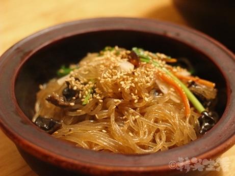 韓定食 仁寺洞 ハンメチョン チャプチェ