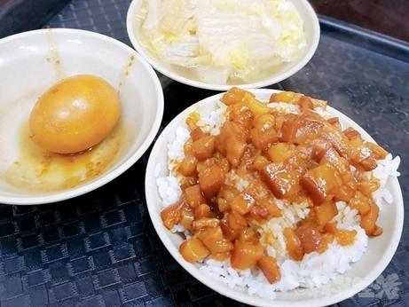 台湾グルメ 今大魯肉飯 魯肉飯 三重 菜寮