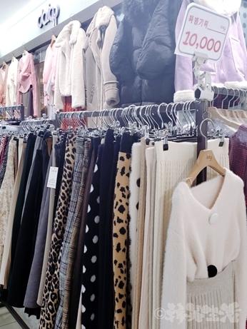 江南 地下ショッピングセンター 洋服 韓国ファッション