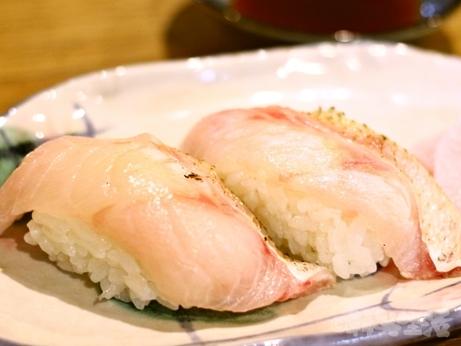 目白 池袋 グルメ 千の恵み ノドグロ のどぐろ寿司 刺身 炙り握り