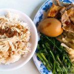 孤独のグルメ 迪化街 永楽担仔麺 鶏肉飯弁当