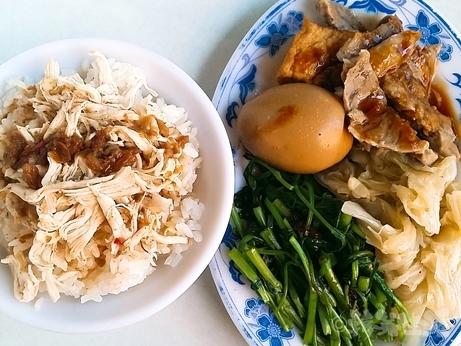 孤独のグルメ 迪化街 永楽坦仔麺 鶏肉飯弁当