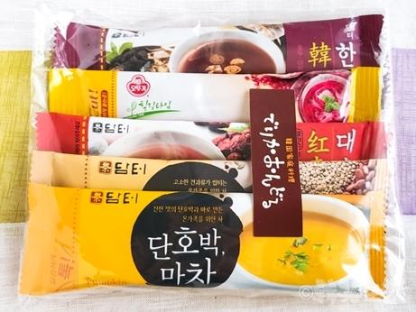 新大久保 でりかおんどる 韓国料理 韓国茶 かぼちゃスープ ザクロ茶