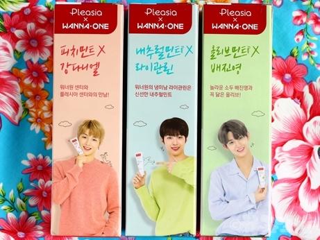 韓国旅行 韓国土産 K-POP アイテム Wanna One 歯磨き粉