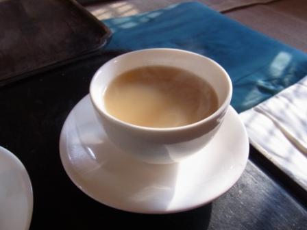 ウリ茶で飲んだ生姜茶