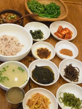 テンジャン芸術と酒-味噌ビビンバ定食