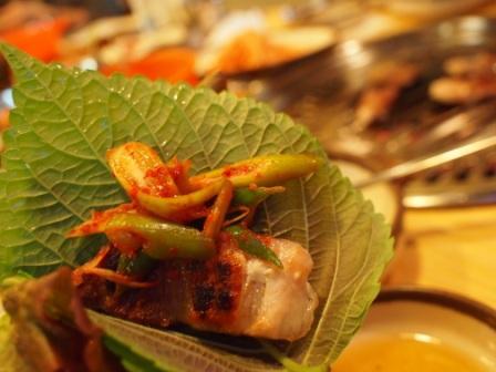ホバク食堂-サムギョプサル2