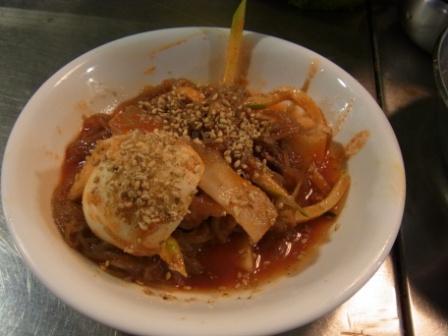 巨済食堂-ビビン冷麺