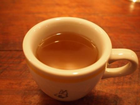 渋谷うさぎ-ランチ後のマテ茶