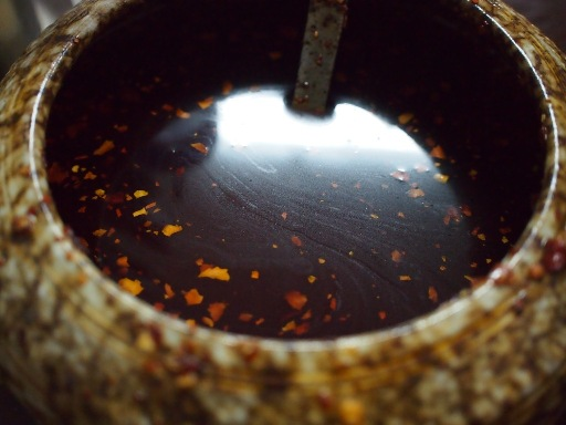 老牌牛肉拉麺大王-ラー油