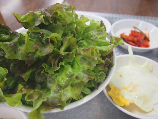 カムナムチッ 運転手食堂-野菜