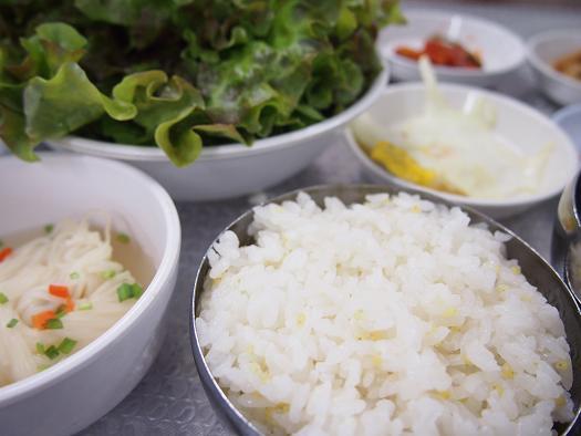 カンナムチッ 運転手食堂-ご飯1