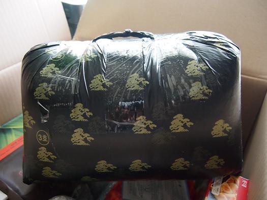 東大門-夏用布団の梱包1