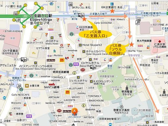 乙支路入口駅-地図