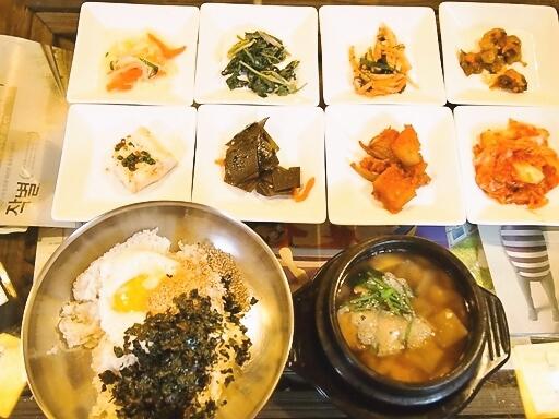 シチョンジュ-バターパプ定食