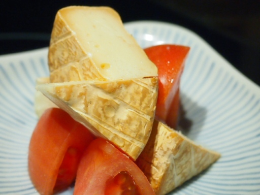 青山 千 きいろ-料理(チーズ)