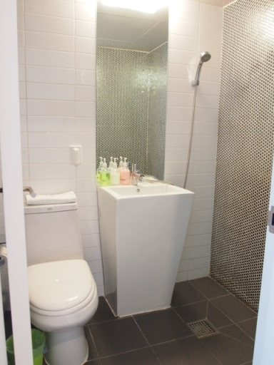 ウォンズビル明洞-浴室&洗面所1