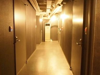 ウォンズビル明洞-廊下