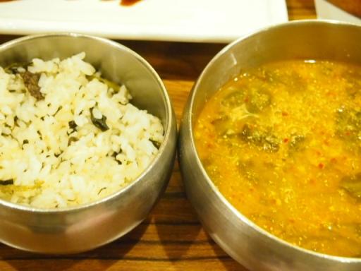 ハンガラム2-ご飯&カニのスープ