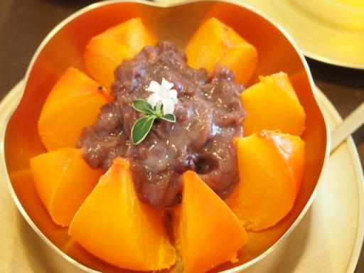 ノッグルカジロニ-小豆ソースの紅柿1