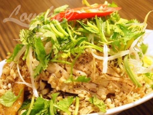 盛園絲瓜湯包-特製山東焼鶏1