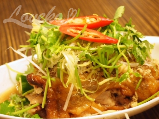 盛園絲瓜湯包-特製山東焼鶏2