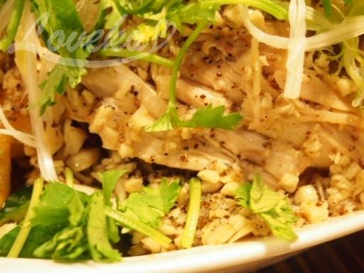 盛園絲瓜湯包-特製山東焼鶏3