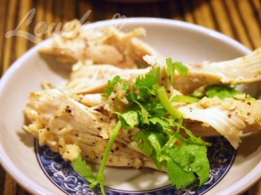 盛園絲瓜湯包-特製山東焼鶏4