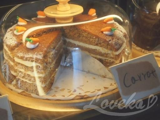 自由が丘8丁目-キャロットケーキ