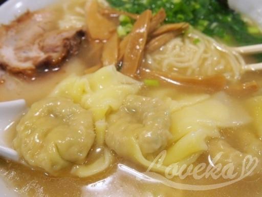 こうや-ワンタン麺3