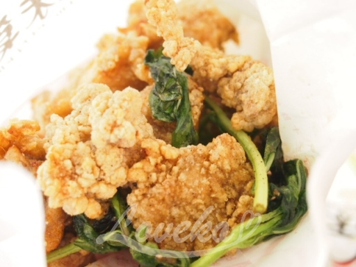 塩酥鶏-鶏の唐揚げ2