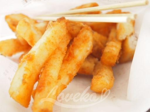 塩酥鶏-ポテト
