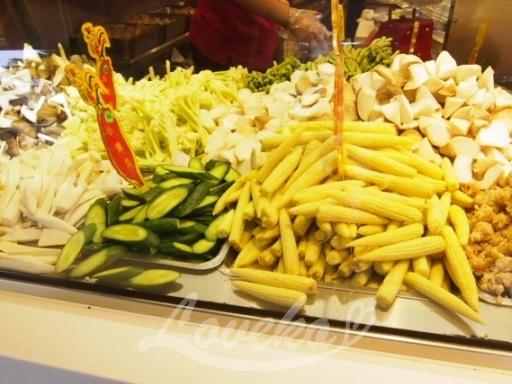 塩酥鶏-野菜
