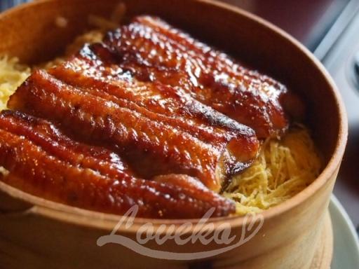 伊豆栄(不忍亭)-鰻せいろ蒸し1