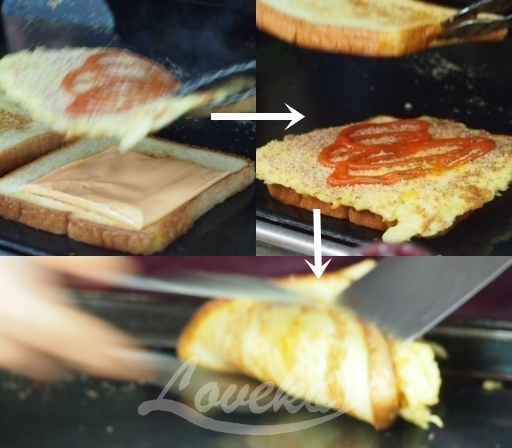 国都-チーズトースト4