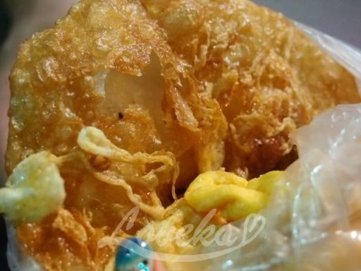 夜市の葱油餅1