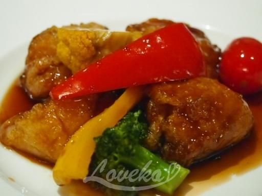 泥武士-麩と野菜