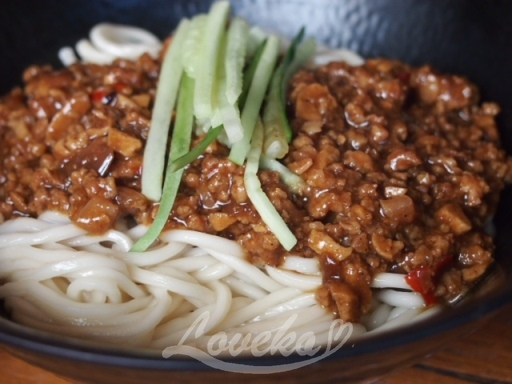 餃子楽-炸醤麺1