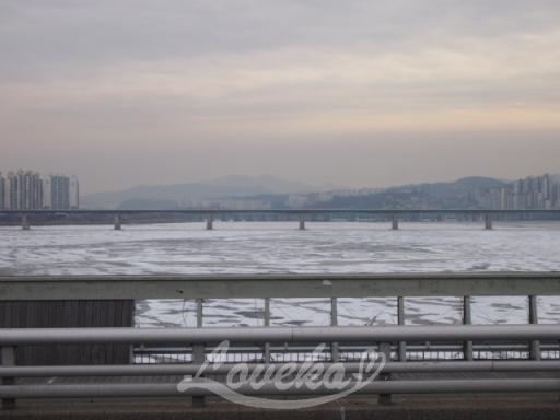 2016 凍る漢江