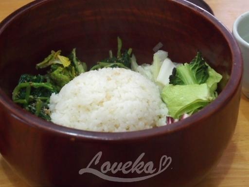 プルヒャンギ東大門-野菜ビビンバ1